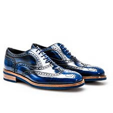 Da Vinci - Blue Oxford Shoes