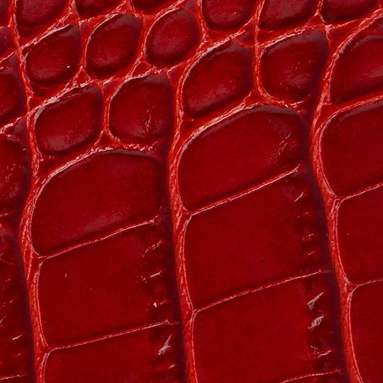 crocodile red