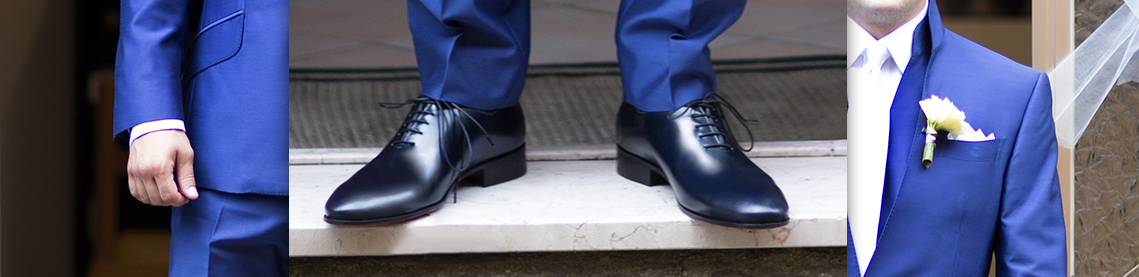 Men's Oxfords, customized classic shoes