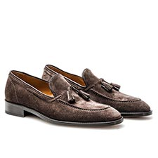 Romeo - Coffee Suede Moccasin
