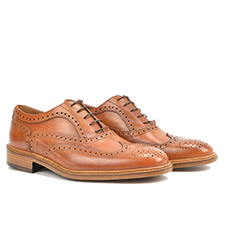 Da Vinci - Tan Oxford Wing Brogue