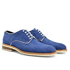 Pertini - Denim Derby Shoes