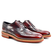 Volta - Polished Derby Wing Brogue
