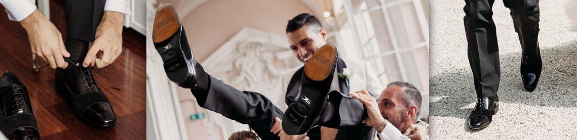 Scarpe da sposo personalizzate e su misura